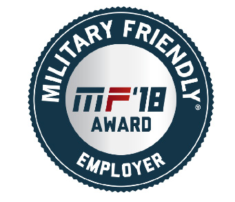 "Military Benefits Magazine named Schwab a ""Veteran Friendly Employer"" for the sixth consecutive year."