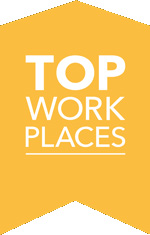 Top workplace recognition